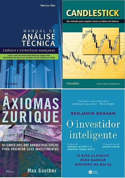 Manual De Análise Técnica + Investidor Inteligente +2 Livros