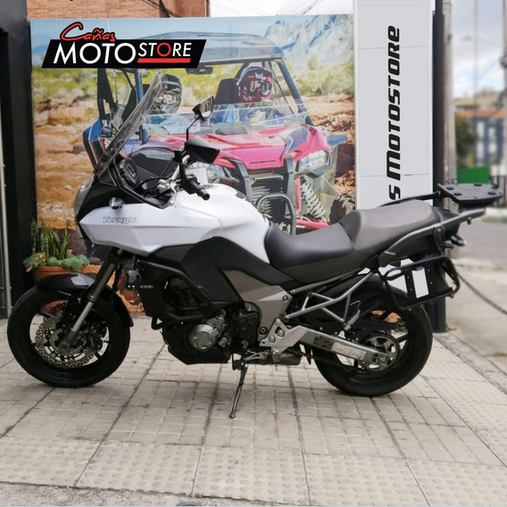 Kawasaki Versys 1000 Blanca 2012
