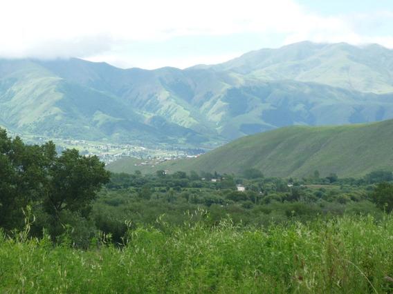 Terreno En Tafí Del Valle. Zona Rodeo Grande. Hermosa Vista.