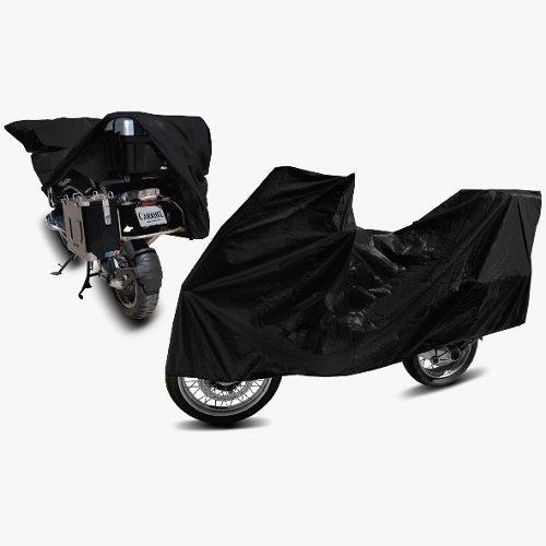 Capa Cobrir Moto Crosser 150e Forrada Corino Couro Ecologico