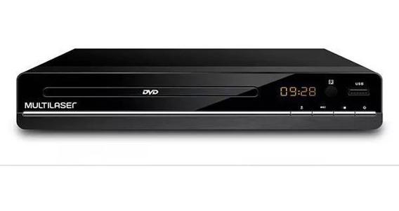 Dvd Player Multilaser 3 Em 1 Original Com Garantia