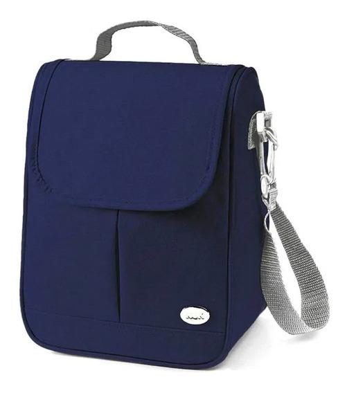 Bolsa Térmica Azul Para Mamadeiras E Acessórios - Nuk