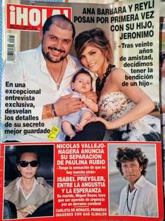 Ana Barbara Y Reyli Con Su Hijo, Paulina Rubio, Colate.