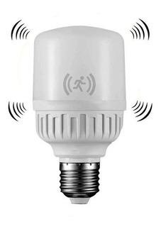 Lampara Foco Led 9w E27 Bajo Consumo Sensor De Movimiento