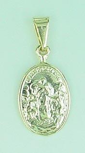 Medalhinha De Nossa Senhora Desata Nós Folheada A Ouro Linda
