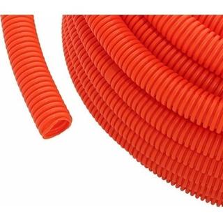 Caño Corrugado Naranja 3/4 X 25mts Envíos A Todo El País