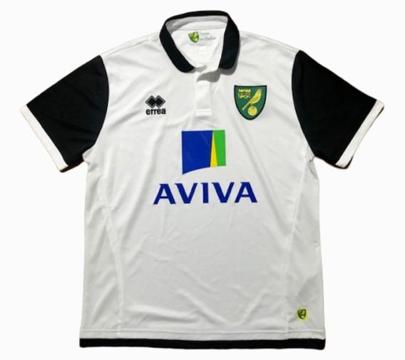 Camisa Norwich City Errea 2013/2014 Sambaquifut