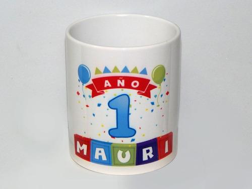 Imagen 1 de 6 de Porta Lapices Ceramica Personalizado