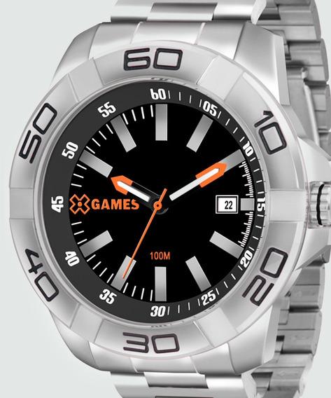 Relógio Masculino X-games Xmss1037 P1sx Analógico Prata
