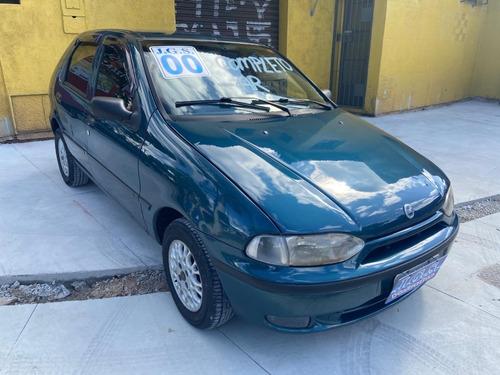 Fiat Palio Ex 4 Portas 2000 155.000 Km Azul 4 Portas