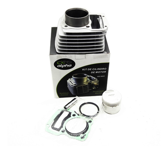 Kit Motor Cilindro Pistão Anéis Dafra Kansas 150 / Speed 150