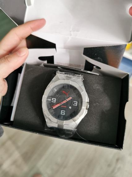 Reloj Puma Iconic De Acero