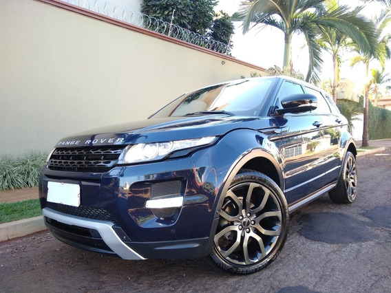 Land Rover Range Rover Evoque Dynamic Tech 2.0 Azul 2012
