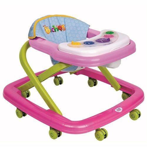 Andador Infantil Rosa Magic Toys