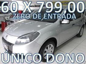 Renault Sandero Flex Completo Zero De Entrada + 60 X 799,00