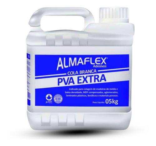 Imagem 1 de 8 de Cola Branca Pva Extra 5kg - Madeira Concreto Slime Cascorez