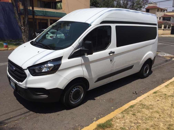 Ford Transit 2.2 Van Larga Techo Alto Custom Mt 2018