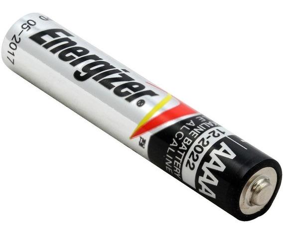 Pilha Energizer Aaaa 4a Alcalina 1,5v Validade 2023