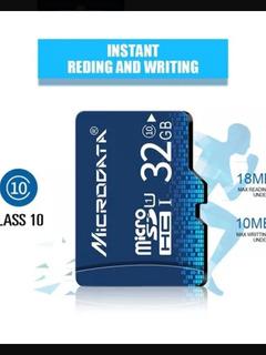 Micro Sd 32gb + Adaptador De Cartão De Memória