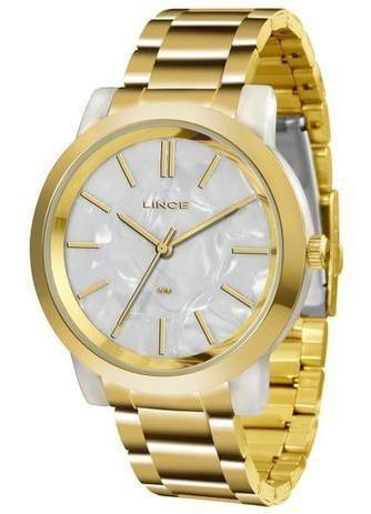 Relógio Feminino Lince Lrt613p B1kx 616352 Dourado