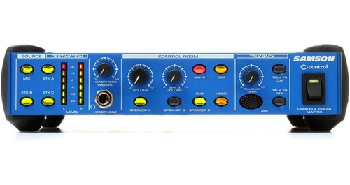 Matriz De Control De Estudio Samson C-control 3 Monitores