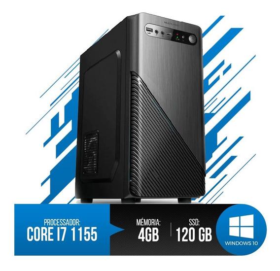 Desktop Pc I7 1155, 4gb Ram, Hd Ssd 120gb, Super Promoção!!