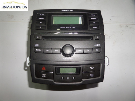 Radio Am / Fm Cd Digital Player Ssangyong Korando Nº4363