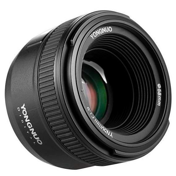 Lente Yongnuo 50mm F1.8n Auto Foco P/ Nikon