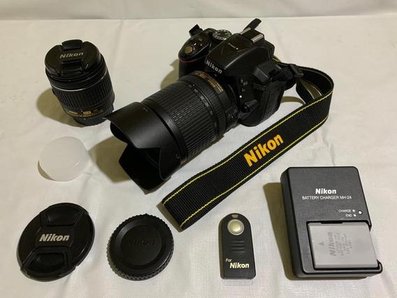Câmera Nikon D5300 Com 2 Lentes