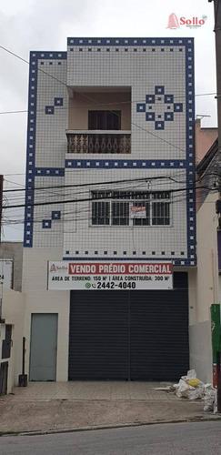 Prédio Comercial À Venda, 300 M² - Picanco - Guarulhos/sp - Pr0016