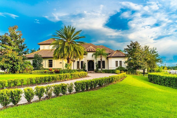 Casa Com 5 Dormitórios À Venda, 459 M² Por R$ 9.799.000 - Windermere - Orange County/florida - Ca2147