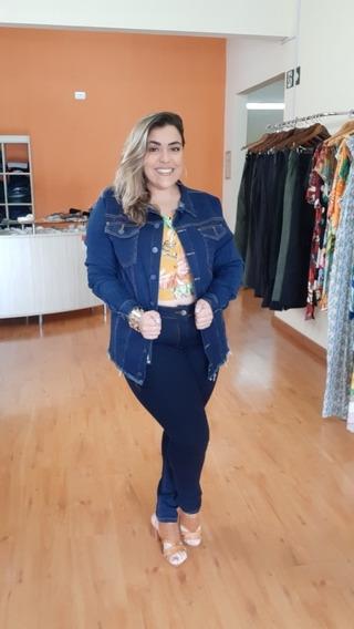 Jaqueta Jeans Moda Plus Gg, G1 E G2