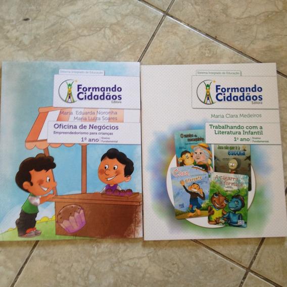 2 Livros Formando Cidadãos Kit C 1ª Ano Ens. Fundamental C2