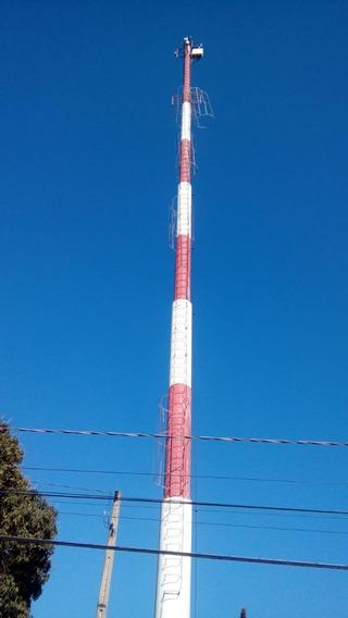 Torre Auto-portante Tubular De 30mts Galvanizada
