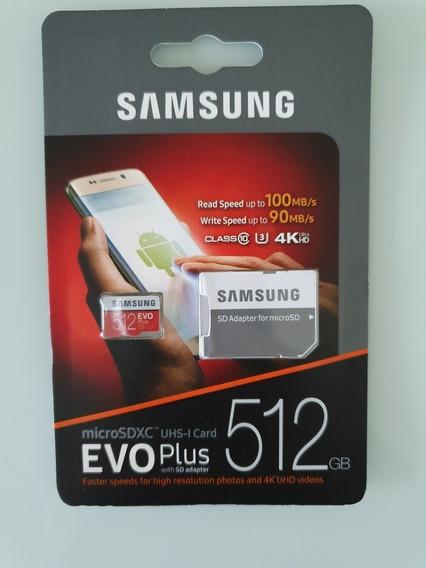 Cartão De Memória 512 Gb Samsung