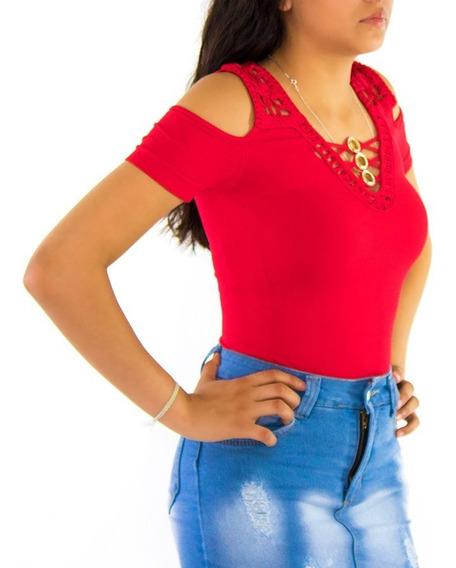 Blusas Dama Blusa Mujer Strech Moda Ropa Calidad Diseño 05