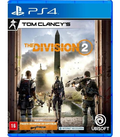 The Division 2 (mídia Física) - Ps4 (novo)