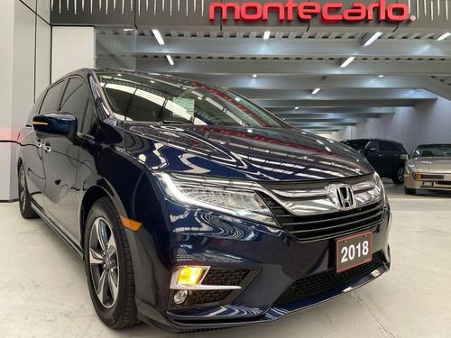Imagen 1 de 11 de Honda Odyssey Touring 2018 Azul