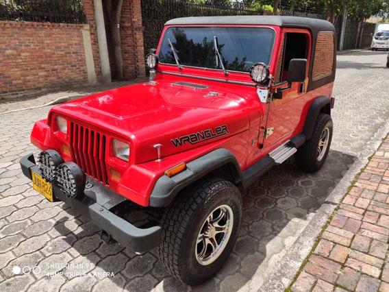 Jeep Wrangler Motor 4.2 Rojo Modelo 1986