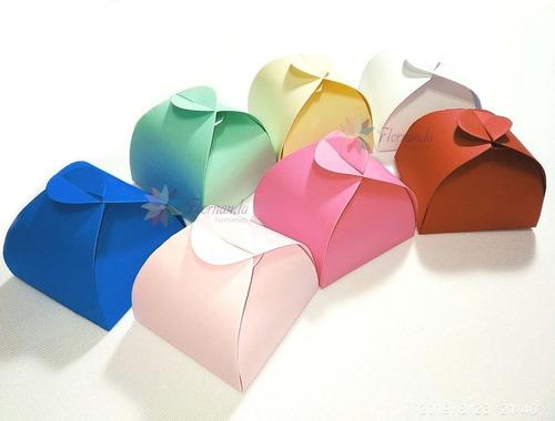 300 Caixinhas Para Bem Casados Em Papel Color Plus Sem Laço