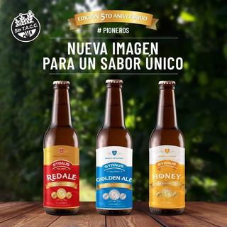 Caja X6 Cerveza Artesanal Straus 330 Ml Gluten Free Sin Tacc