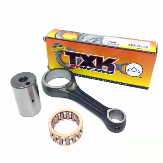 Biela Compl.( Diam Sup P/ Pistão 17mm P/ Compet)- Cg 150 Txk