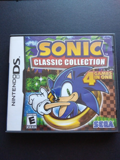 Sonic Classic Collection, Nintendo Ds, Usado.