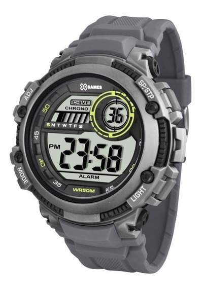 Relógio X-games Xmppd521 Bxgx Cronometro Digital Masculino