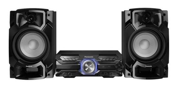 Mini System Panasonic Sc-akx520lbk 580w Rms Bluetooth