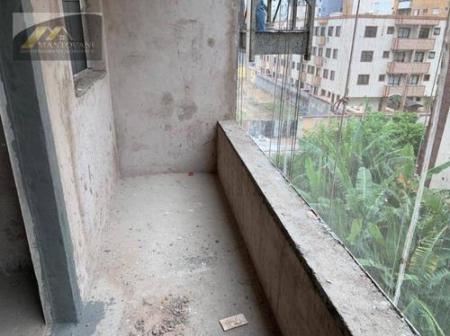 Apartamento Com 1 Dormitório À Venda, 40 M² Por R$ 250.000,00 - Canto Do Forte - Praia Grande/sp - Ap2581