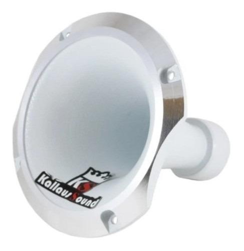 Corneta Kallaus Aluminio Hl-1150 Rosca Curta Branca Expansor