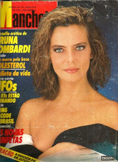 Revista Manchete 1858/87 - Bruna Lombardi/angélica/florinda/