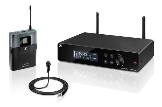 Microfone Sem Fio Sennheiser Xsw2 Me2a Lapela Original