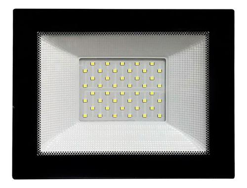 Foco Led Liper 50w Luz Fría Para Interior Y Exterior Loi